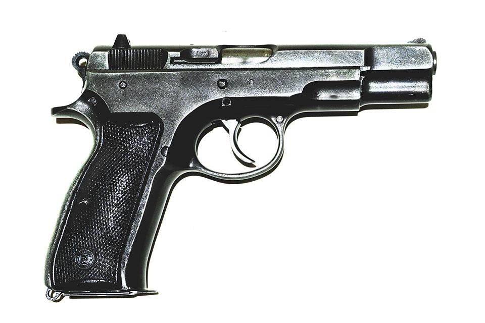 <b>CZ 75</b></br>kaliber 9 mm