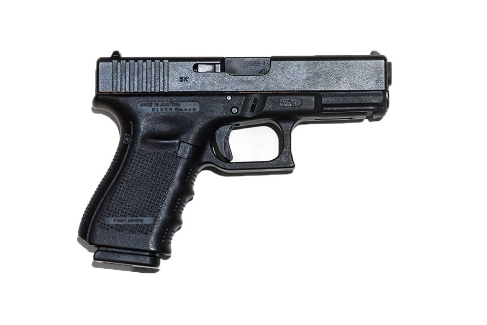 <b>Glock 19 Gen 4</b></br>kaliber 9 mm