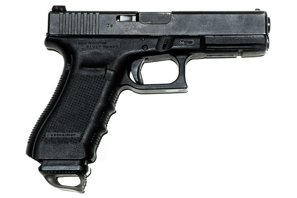 <b>Glock 17 Gen 4</b></br>kaliber 9 mm