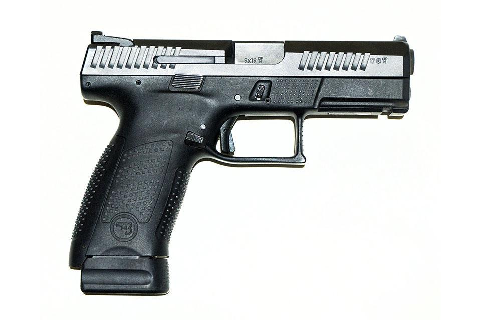 <b>CZ P10C</b></br>kaliber 9 mm