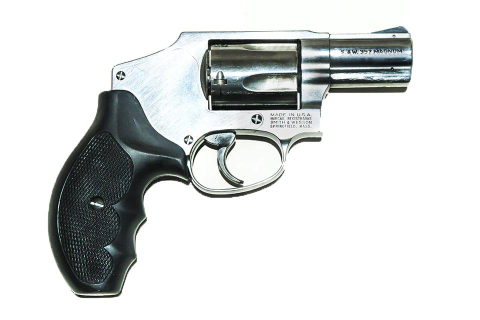 <b>S&W 357 Magnum</b></br>kaliber .357