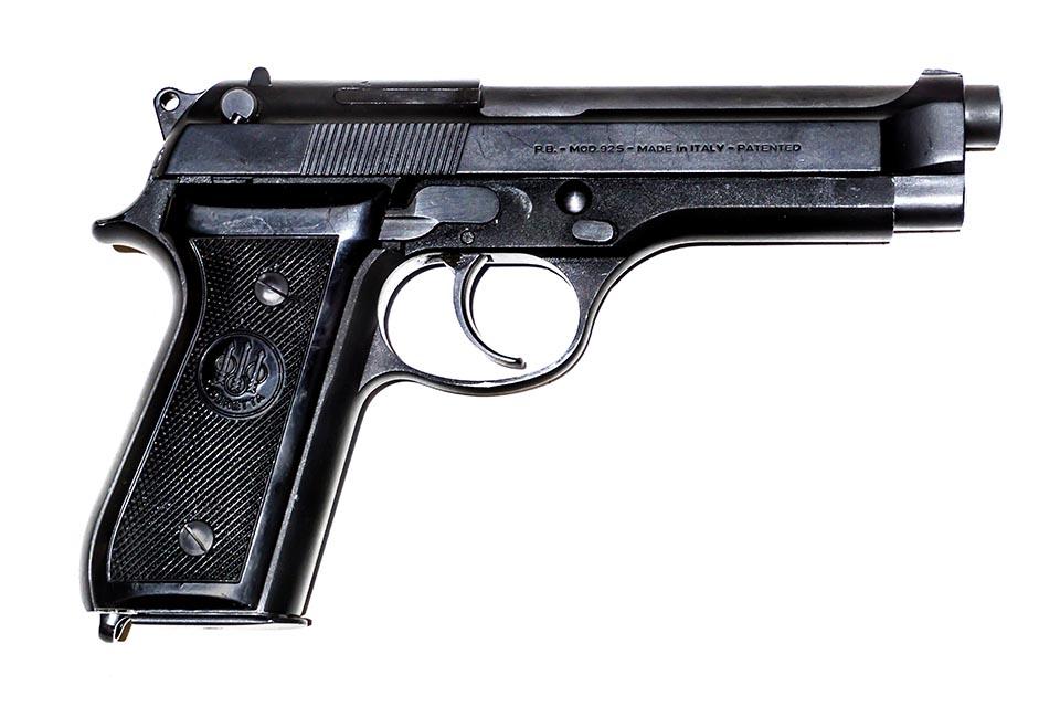 <b>Beretta 92S</b></br>kaliber 9 mm