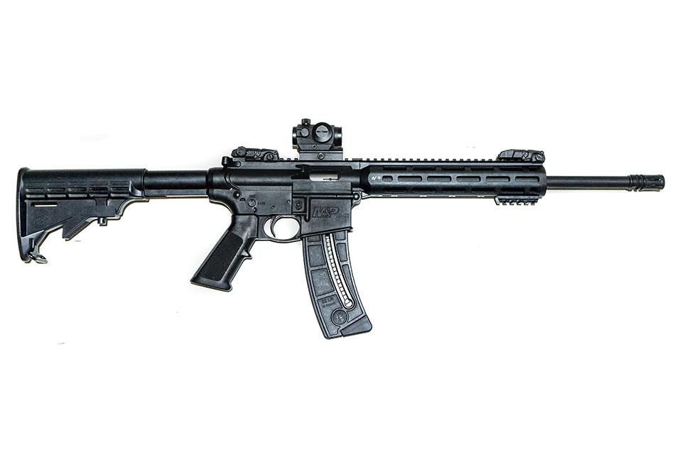 <b>S&W M&P-15</b></br>kaliber .22LR