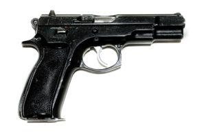 <b>CZ85</b></br>kaliber 9 mm